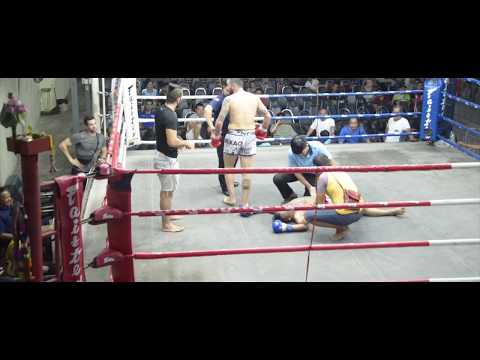 Muay Thai ve Kick Boks Antrenmanım ve Maçım - Tayland 2018