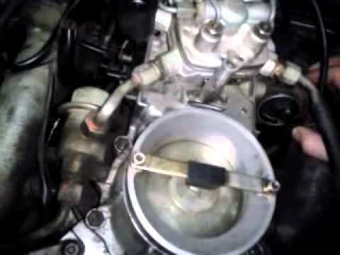 видео установка тнвд мерседес 124 регулировка холостого хода