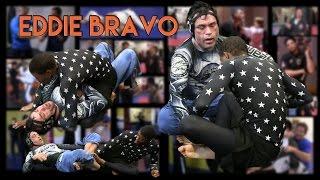 Eddie Bravo Rolling At 10th Planet Jiu Jitsu