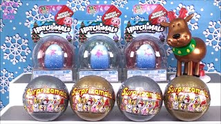Holiday Surprise Toys Unboxing Surprizamals Hatchimals Toy Review KIDS Fun