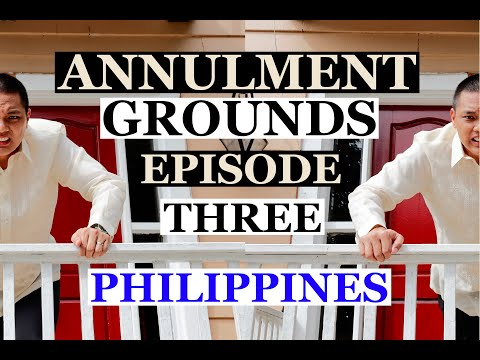Paghain At Grounds Ng Annulment Of Marriage / Episode 3 / Family Code Of The Philippines / Tagalog