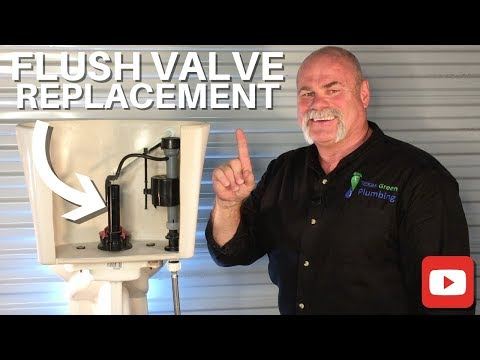 How To Replace A Toilet Flush Valve - DIY Plumbing - The Expert Plumber