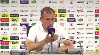 Abdullah Avcı'nın maç sonu açıklamaları | Gazişehir 3-2 Beşiktaş