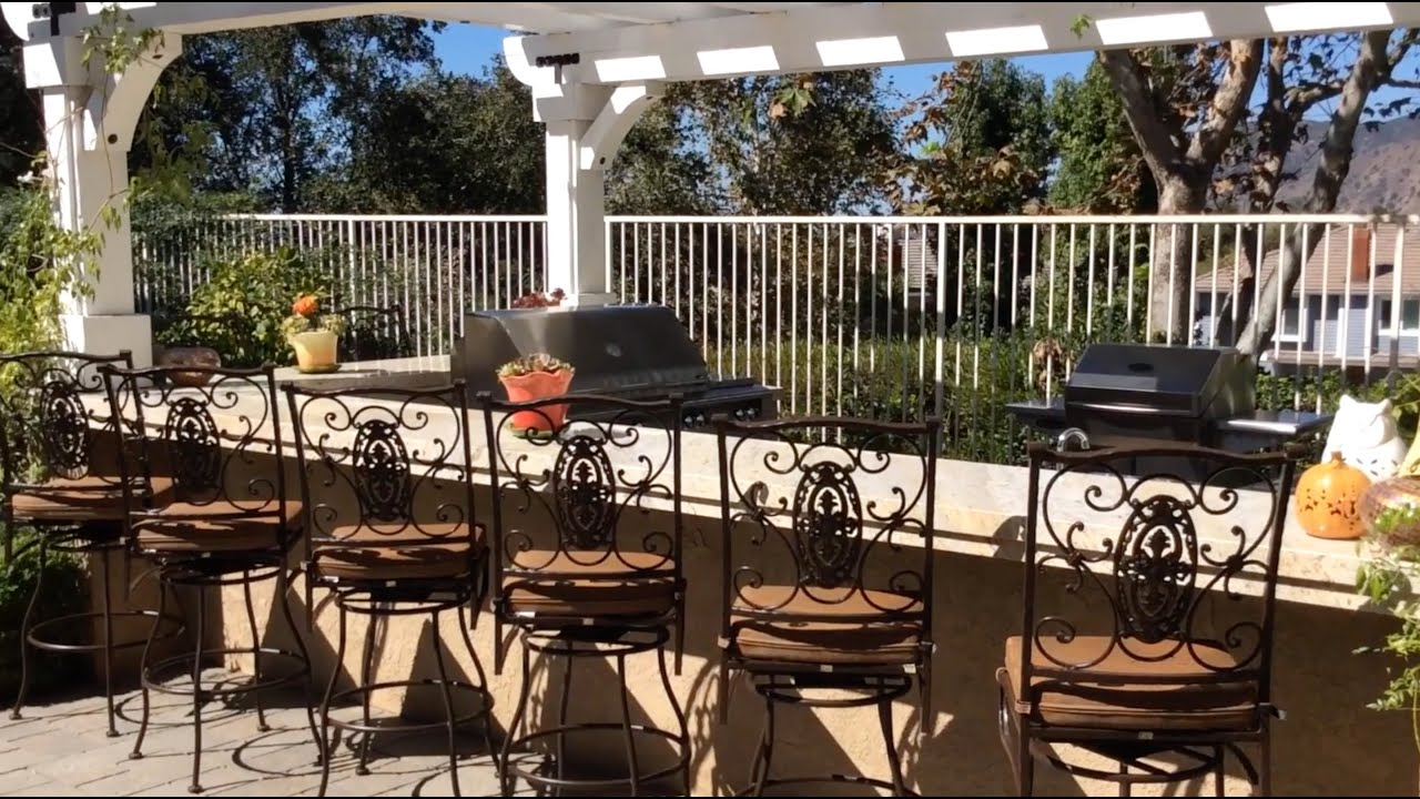 patio ideas & inspiration: ultimate grill & lounge - youtube - Grill Patio Ideas