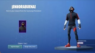 FORTNITE IN SAMSUNG GALAXY S10 + NEW SKIN FOR FREE