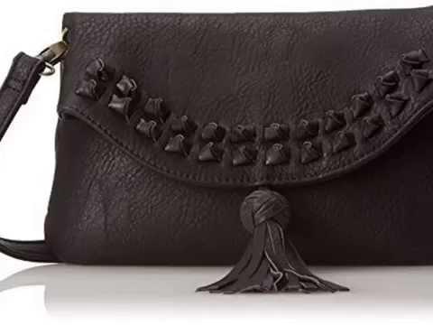 Get BIG BUDDHA Jetta Knot Stud Cross Body Bag, Black, One Size Top