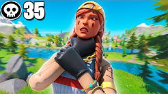35 Kill Solo Squad Controller Pro on PC | Fortnite Chapter 2 World Record? | CHOKED!