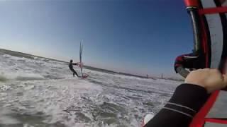 ウインドサーフィン 20180123 kemigawa thumbnail