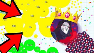 INSANE 128x DOUBLE SPLIT in FANIX.IO! The NEW Agar.io Game! | Double Split King is BACK!