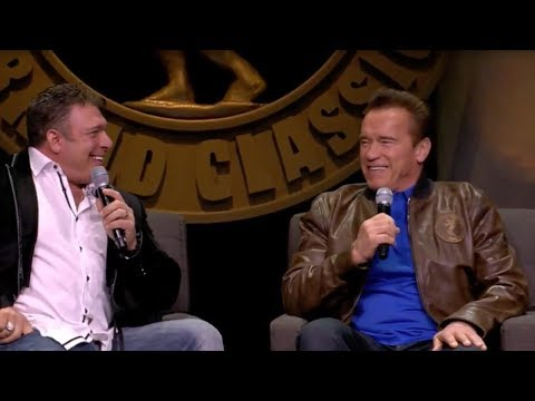 Arnold Sunday Showcase & Coffee With The Champions - Interviews