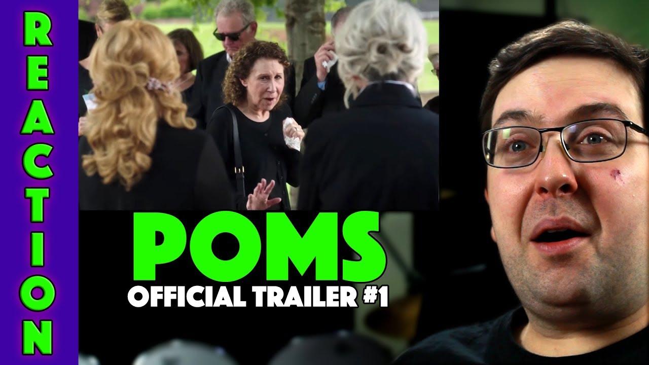 REACTION! Poms Trailer #1 - Diane Keaton Movie 2019