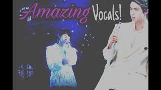 AmaJin vocals - Kim Seokjin live vocal compilation