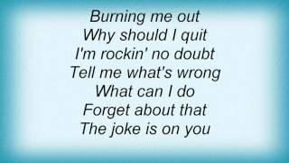 Liquido - The Joke Is On You Lyrics