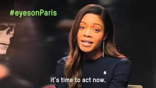 Naomie Harris has her Eyes on Paris