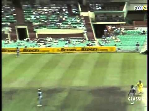 Joel Garner 5 for 31   Australia v West Indies 3rd Final at MCG 1983 84 World Series