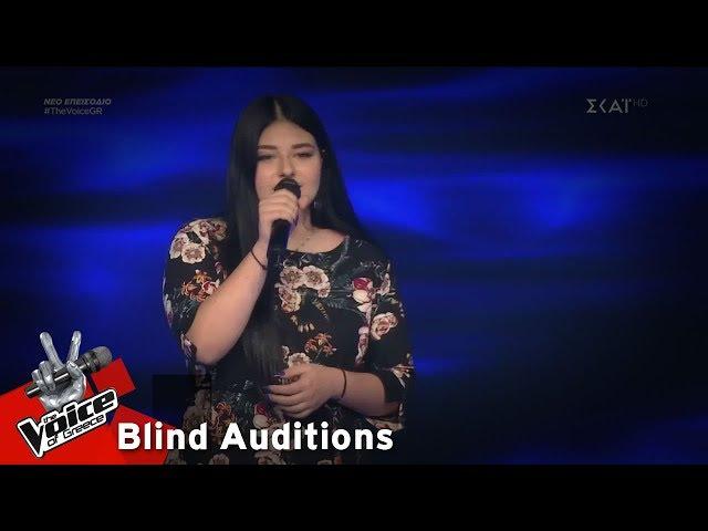 Θένια Κεβεζιτίδου - Can't Help Falling In Love   8o Blind Audition   The Voice of Greece