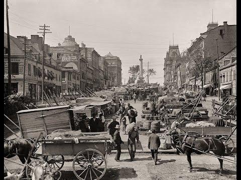 Old Scenes Of Montreal, Quebec ~ Vieux-Montréal ~