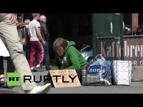 Norway: Oslo debates whether to ban beggars