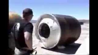 Trident C4 Missile Motor Disposal