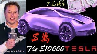 Elon Musk's $10,000 Tesla Robotaxi for China and India