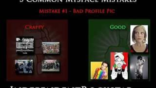 5 Common Mistakes on Myspace Music Profiles