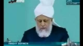 Проповедь Хазрата Мирзы Масрура Ахмада (25-12-09) часть 3