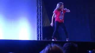 Chachi Gonzales 'Ryan Leslie - You're not my girl' at Breakcre8ionz 2013