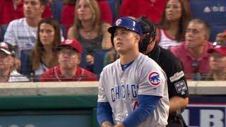 CHC@WSH Gm2: Rizzo drills a two-run homer to right