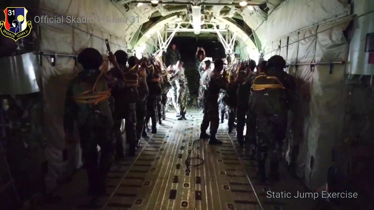 SKADRON UDARA 31 - STATIC JUMPING EXERCISE