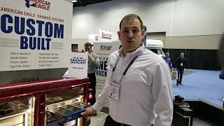 Video still for American Eagle Displays Drawer Lines at NTEA 2019