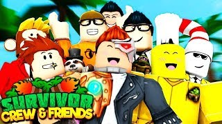 KICKED FROM THE CREW?! (The Crew & Friends Roblox Survivor SEASON 3)