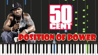 50 Cent Position Of Power Piano Cover