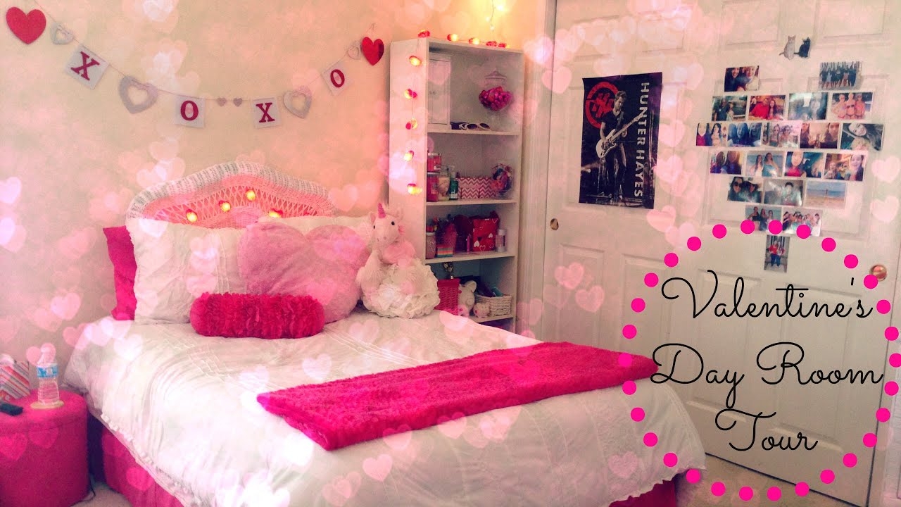 Valentine S Day Room Tour Youtube