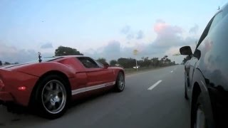 2005 Ford GT vs 2012 Nissan GT-R Racing
