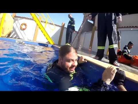 Видео Curso de salvatagem rj