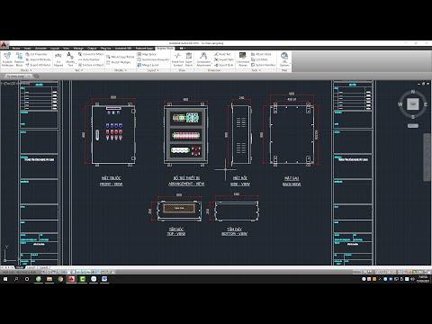Thiết kế tủ điện chiếu sáng trong công nghiệp Autocad - Thiết kế tủ điện từ cơ bản đến nâng cao