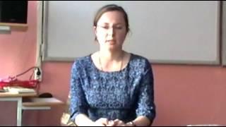 Самоанализ урока - Рунова Н.В.