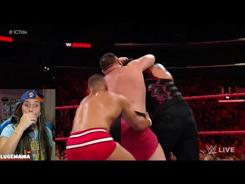WWE Raw 12/4/17 Samoa Joe After Roman vs Jason Jordan Match thumbnail