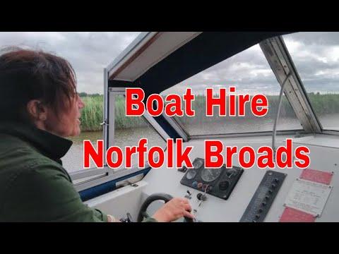 Norfolk Broads Hire Boat Skippering