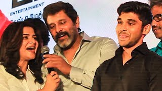 Vikram & DD Sings Happy Birthday Song for Dhuruv | Varma Audio Launch & Press Meet