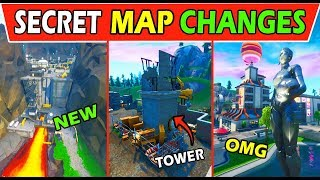 ALL *NEW* SECRET MAP CHANGES! FORTNITE v9.00 SEASON 9 UPDATE! SECRET HOUSE + NEO TILTED