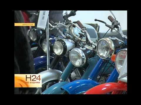 Музей ретро-мототехники отрылся в Иркутске - YouTube