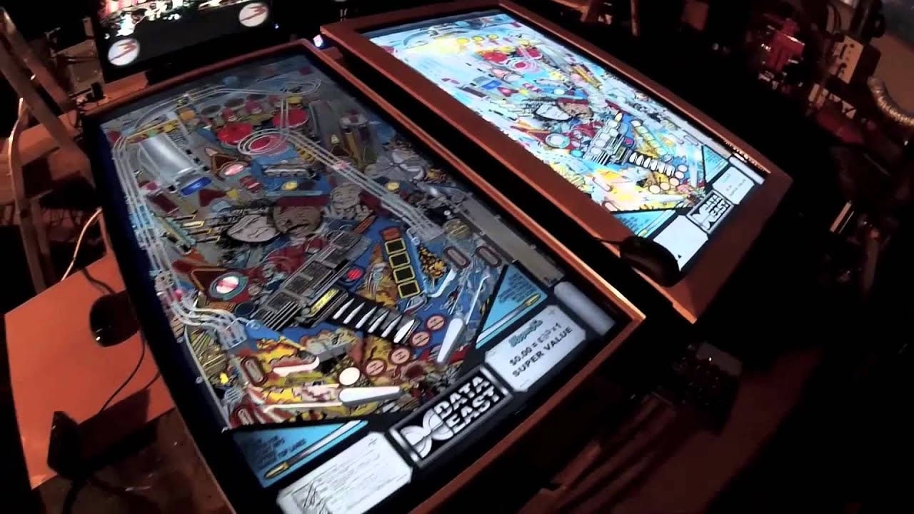 4K pinball playfield comparison between Ultra HD and HD