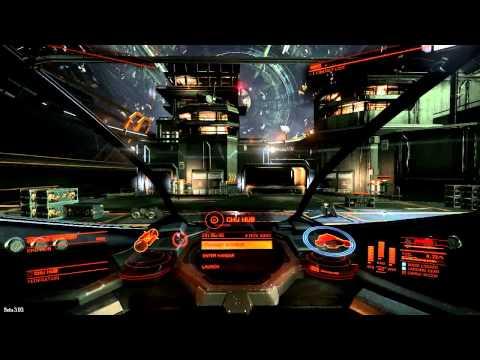 'Elite: Dangerous' Beta v3.03 - Interceptor (Flight Assist Off)