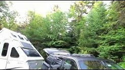 Solar Panel Installation Prove out ADK Moose River Plains Free Camping