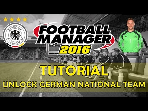 How To Unlock The German National Team