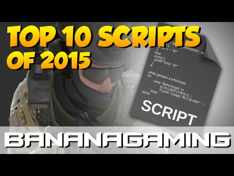CS:GO - TOP 10 SCRIPTS OF 2015