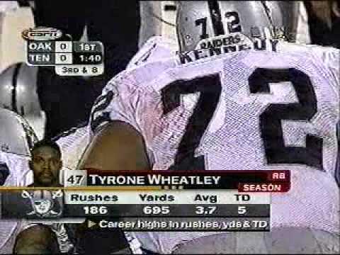 Raiders v Titans TNF 1999 1/2