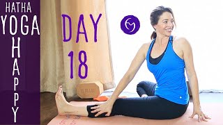 Day 18 Hatha Yoga Happiness: Hug it Out!