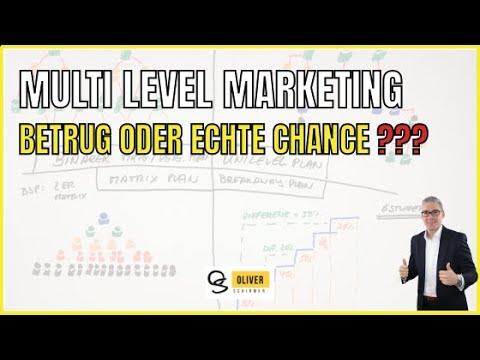 Multi Level Marketing Vertrieb - Betrug oder echte Chance?